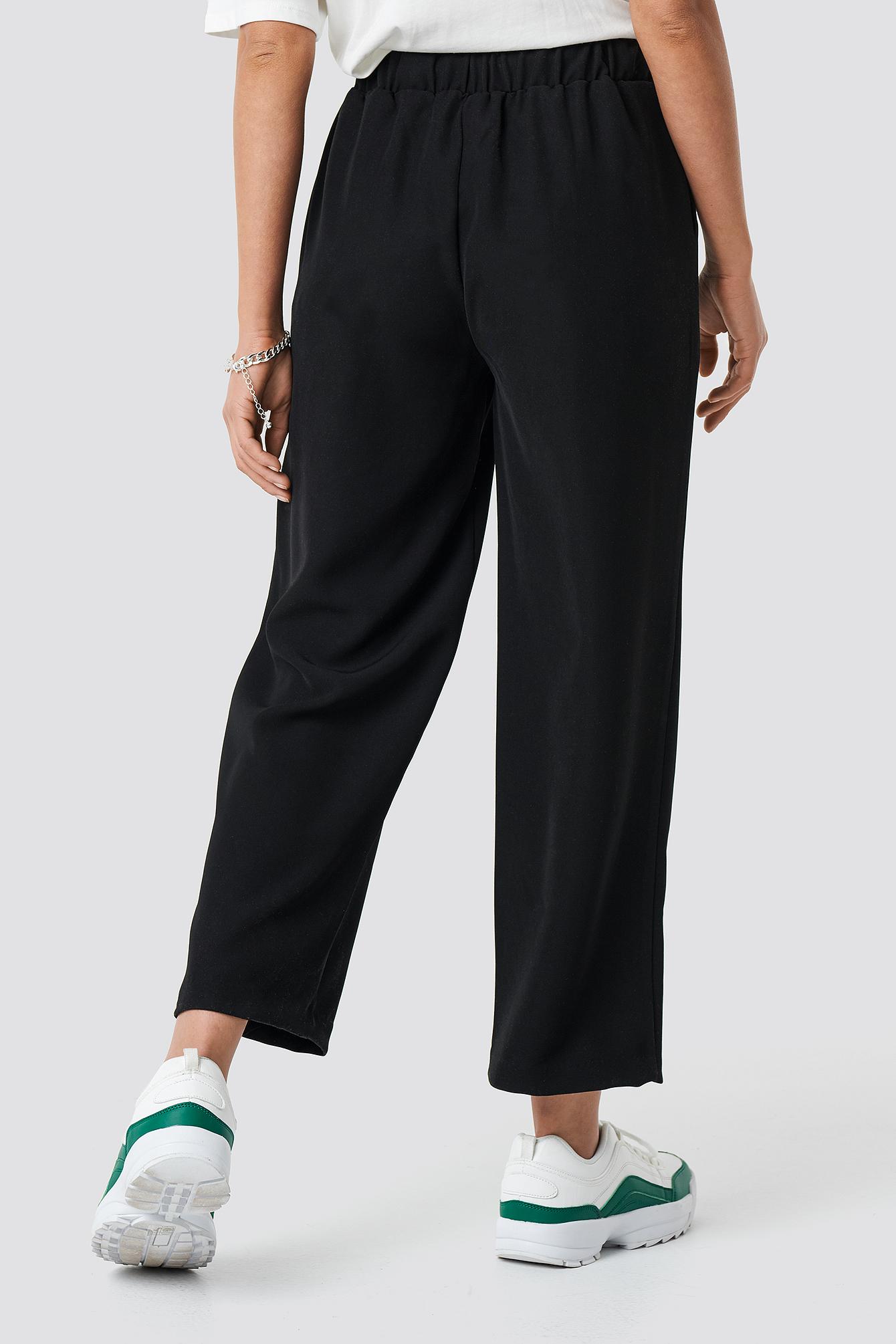 Drawstring Suit Pants NA-KD.COM