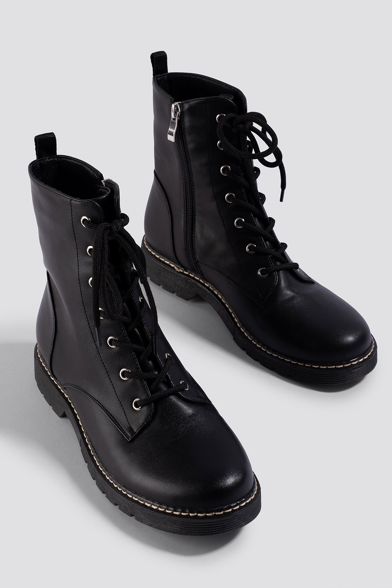 Lace-Up Boots NA-KD.COM