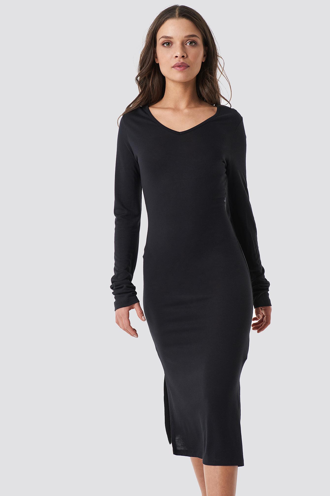 Low Back Jersey Dress NA-KD.COM