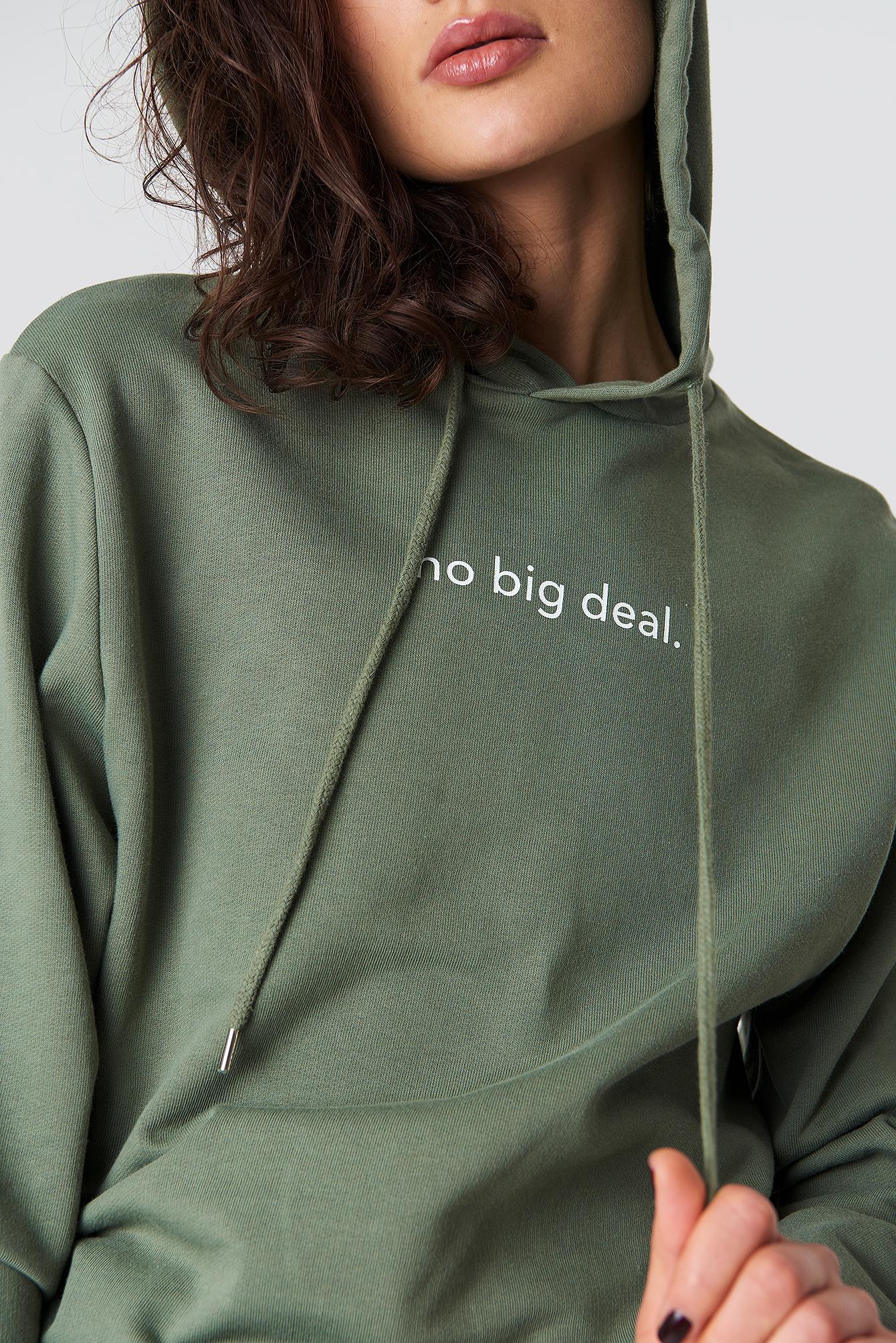 No Big Deal Hoodie NA-KD.COM