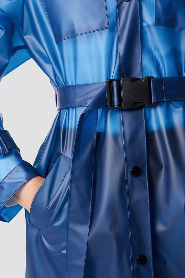 Rain Coat Blue