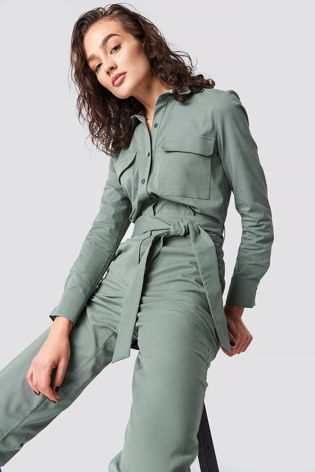 Safari Jumpsuit Kaki