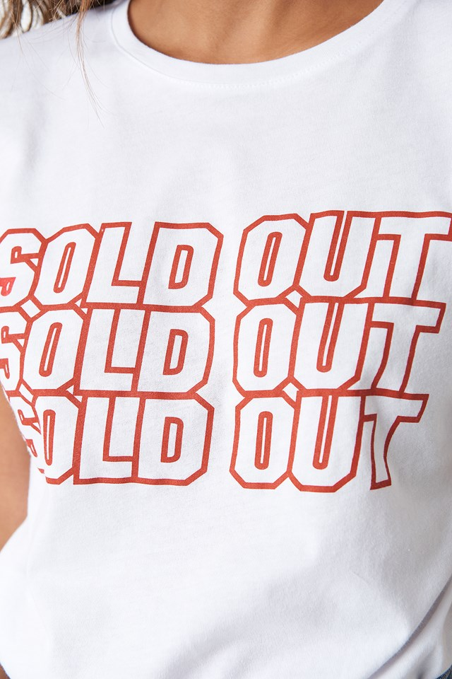 Sold Out Tee White