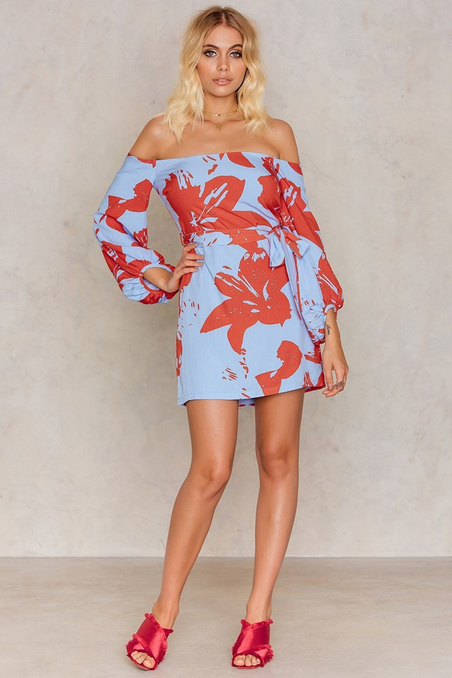 Camilla Dress Floral Print