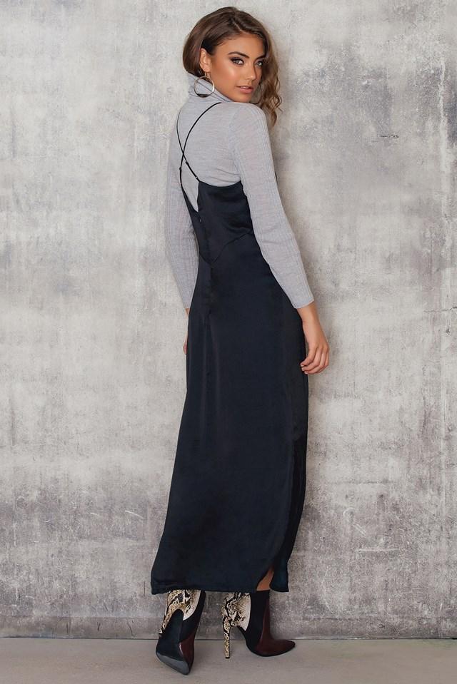 Luxe Slip Dress NA-KD.COM