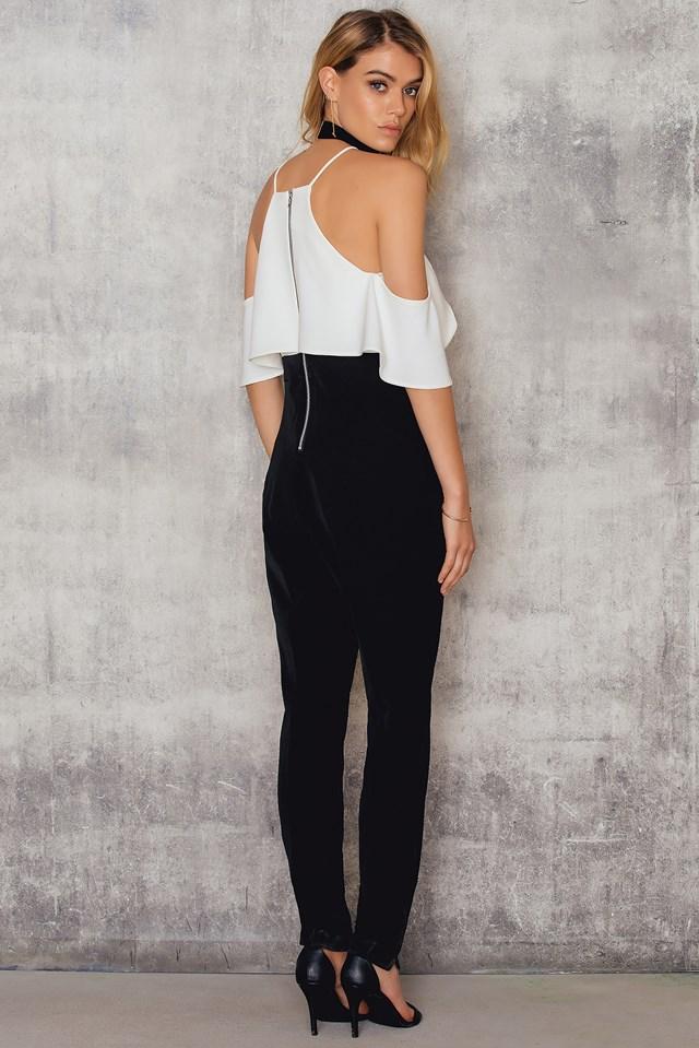 Marlee Jumpsuit White/Black