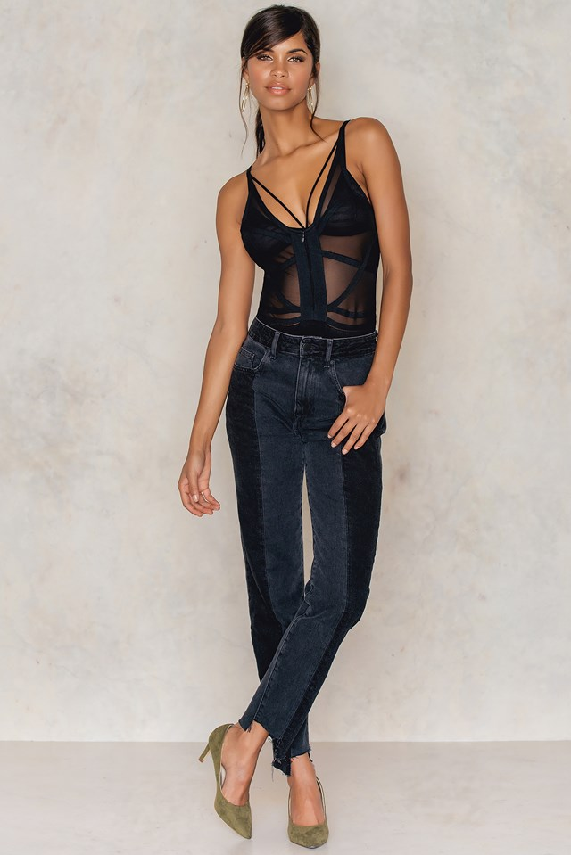 Nadia Bodysuit Black
