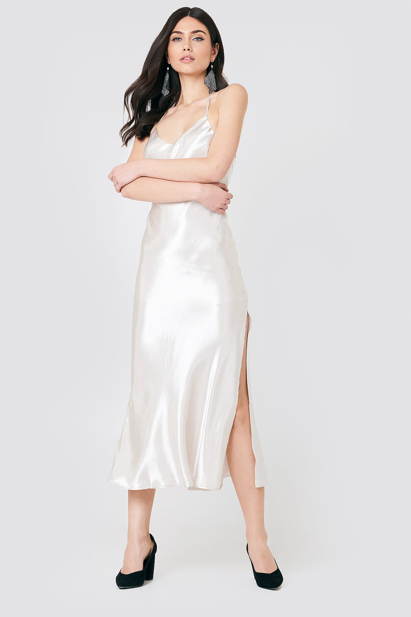 Pferffer Slip Dress NA-KD.COM