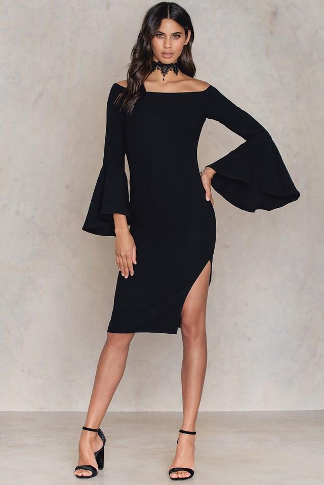 Solange Dress Black