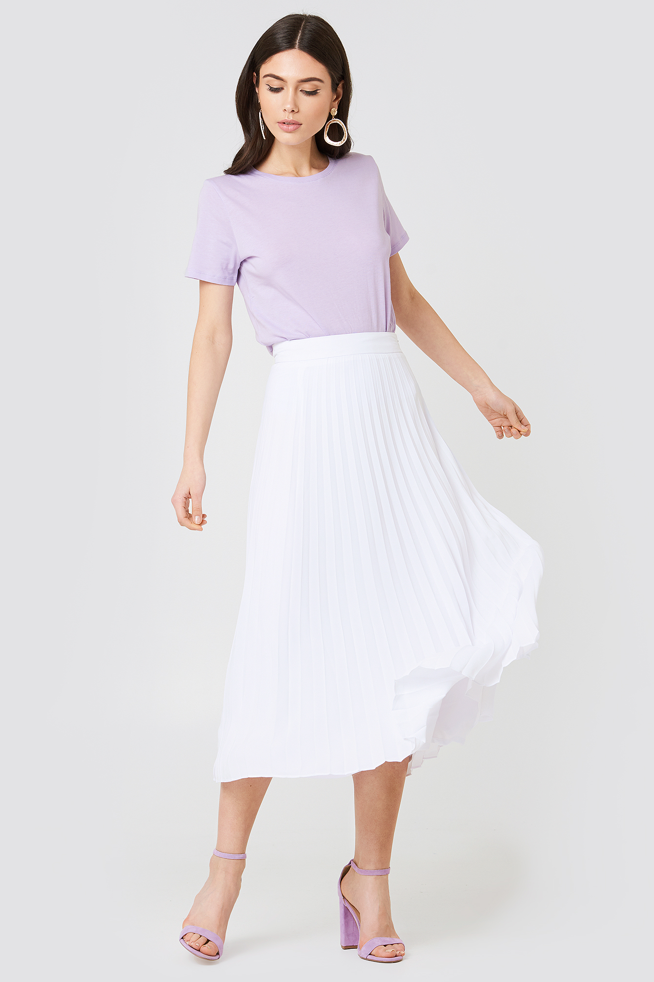 Tahiti Pleat Skirt NA-KD.COM