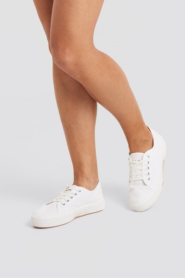 Basic Canvas Sneakers White