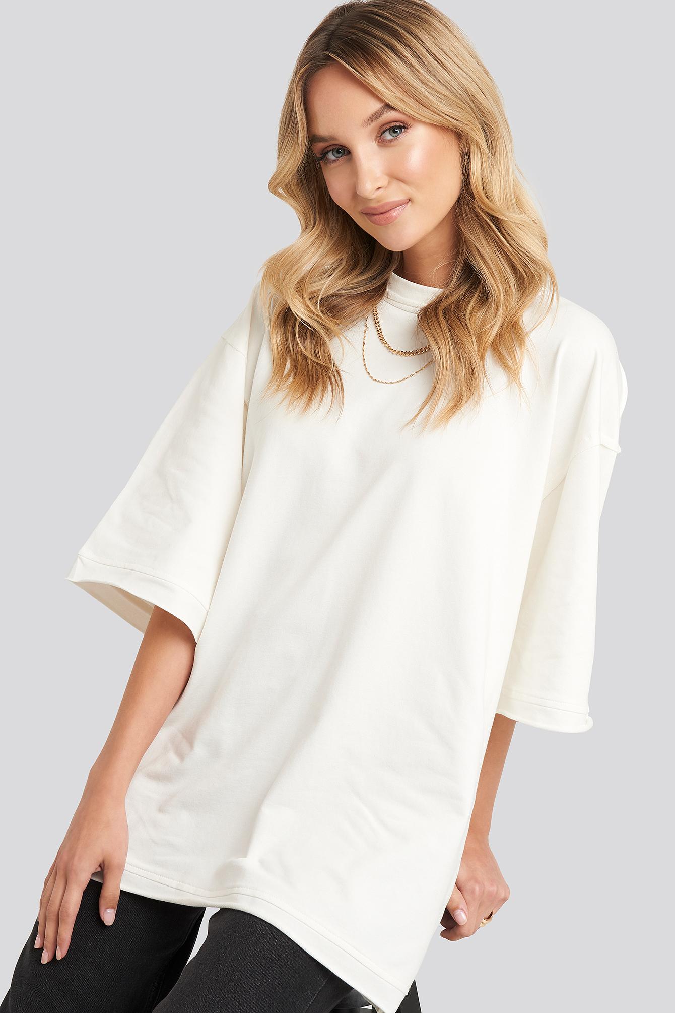 beyyoglu -  Basic Sweatshirt - White