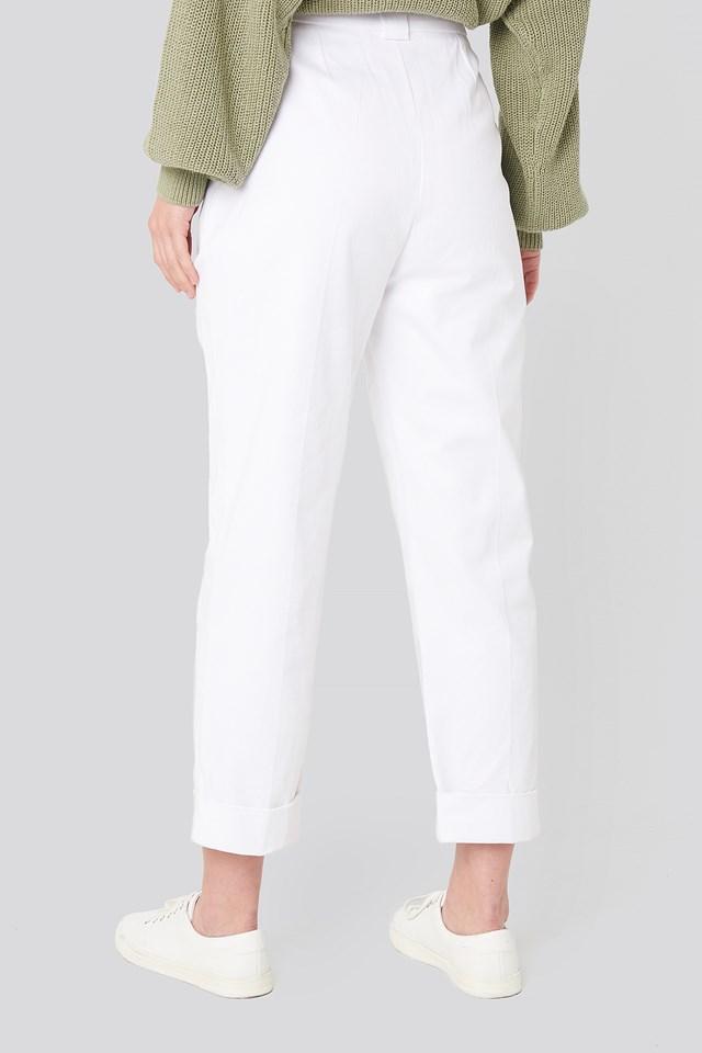 Carrot Pants White