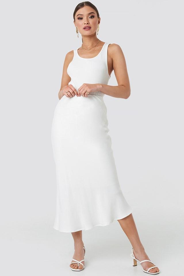 Flywheel Skirt White