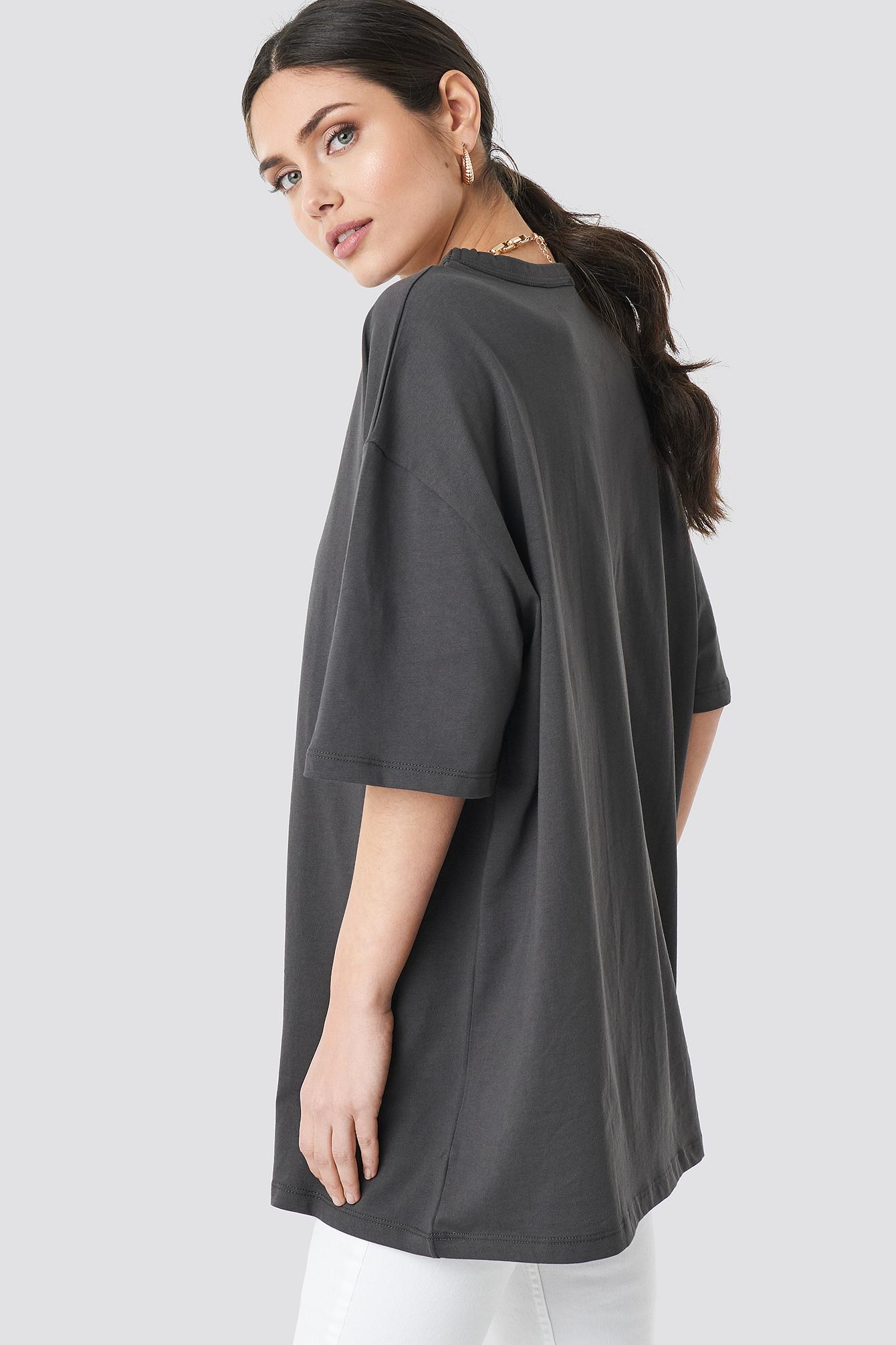 Oversize T-shirt NA-KD.COM
