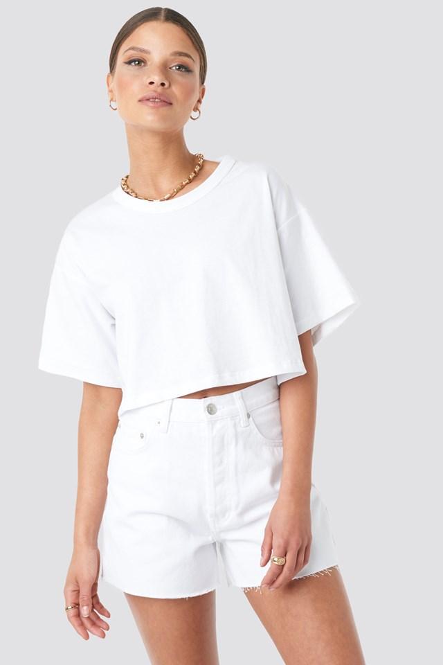 Cropped Basic T-Shirt Beyyoglu