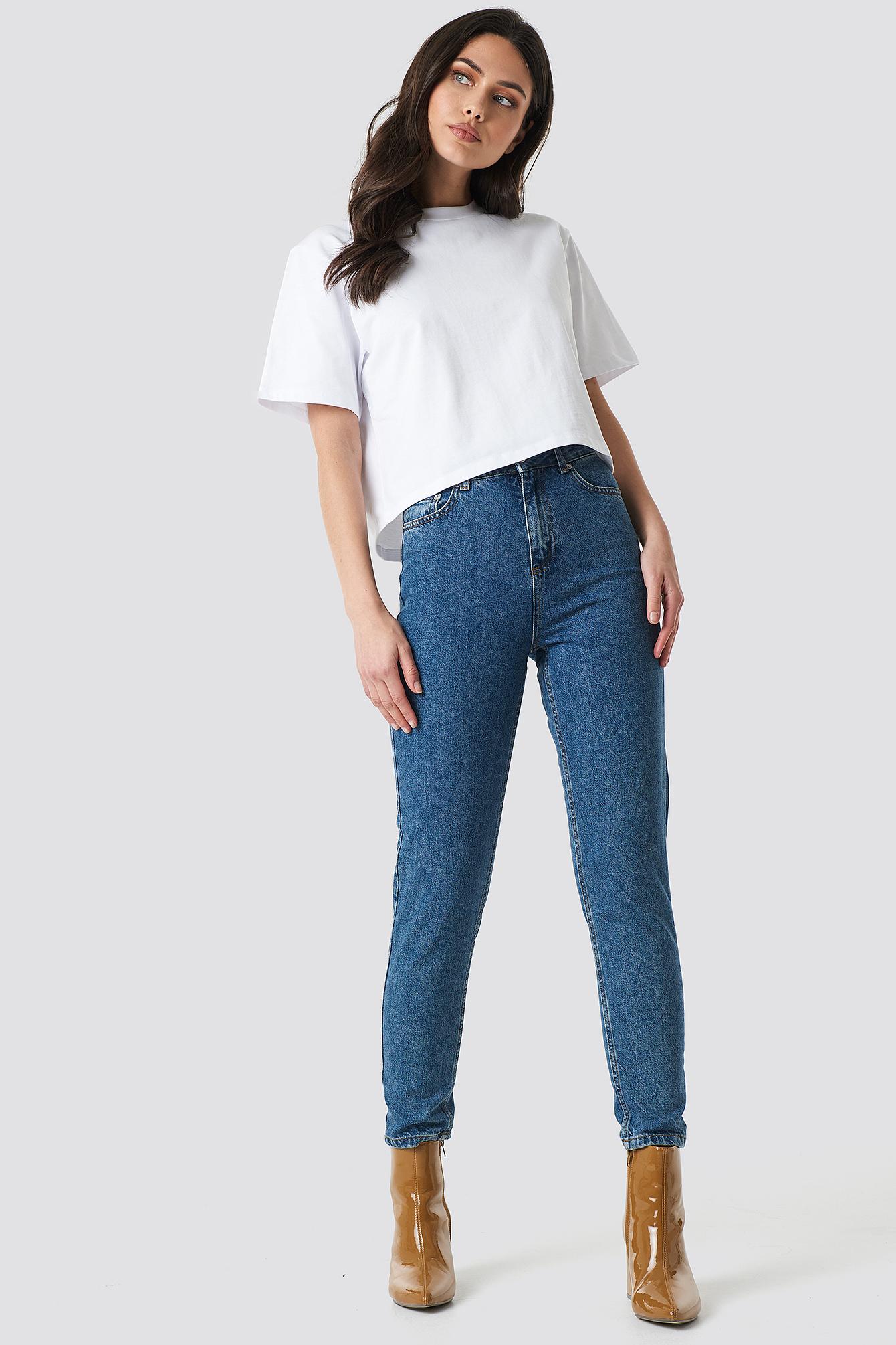 Mom Jeans MB NA-KD.COM