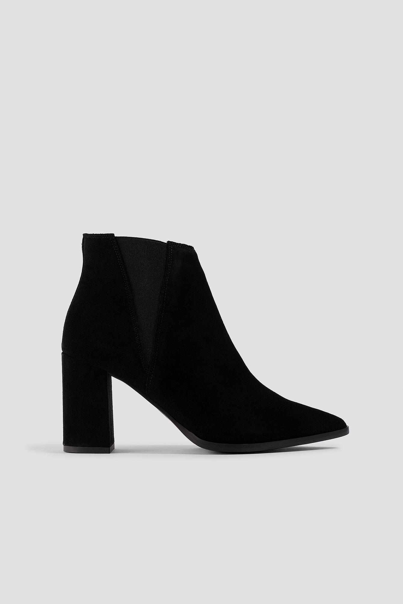 bianco footwear -  Biacaryn Suede Chelsea - Black