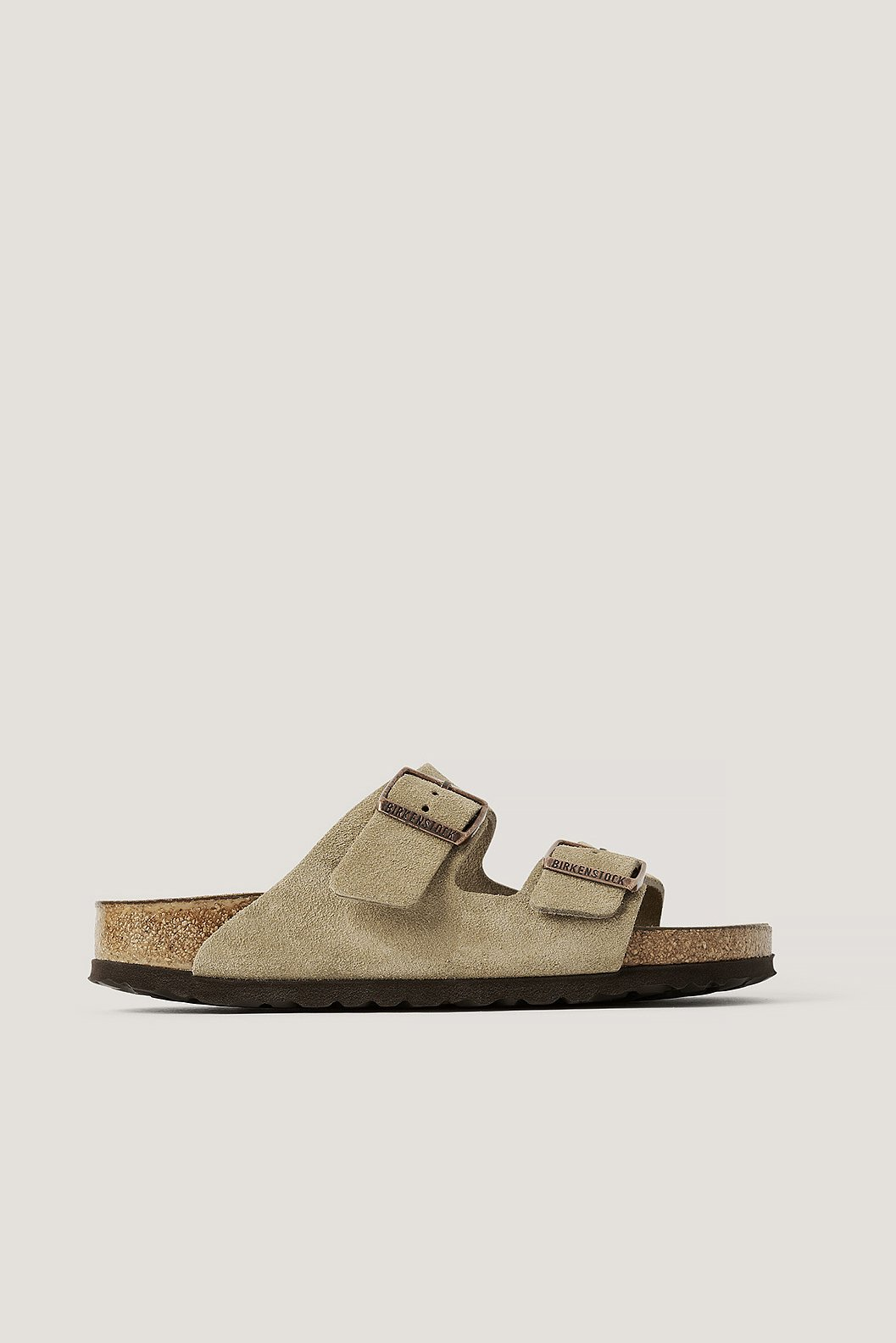 Taupe Sandalen