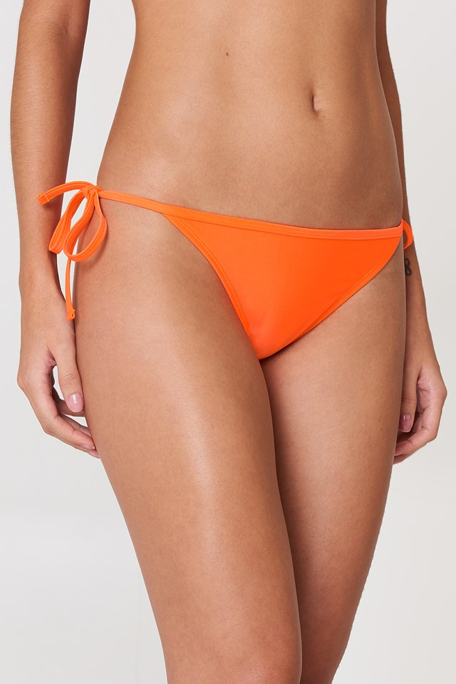 Athens Mix and Match Tie Side Brief Orange
