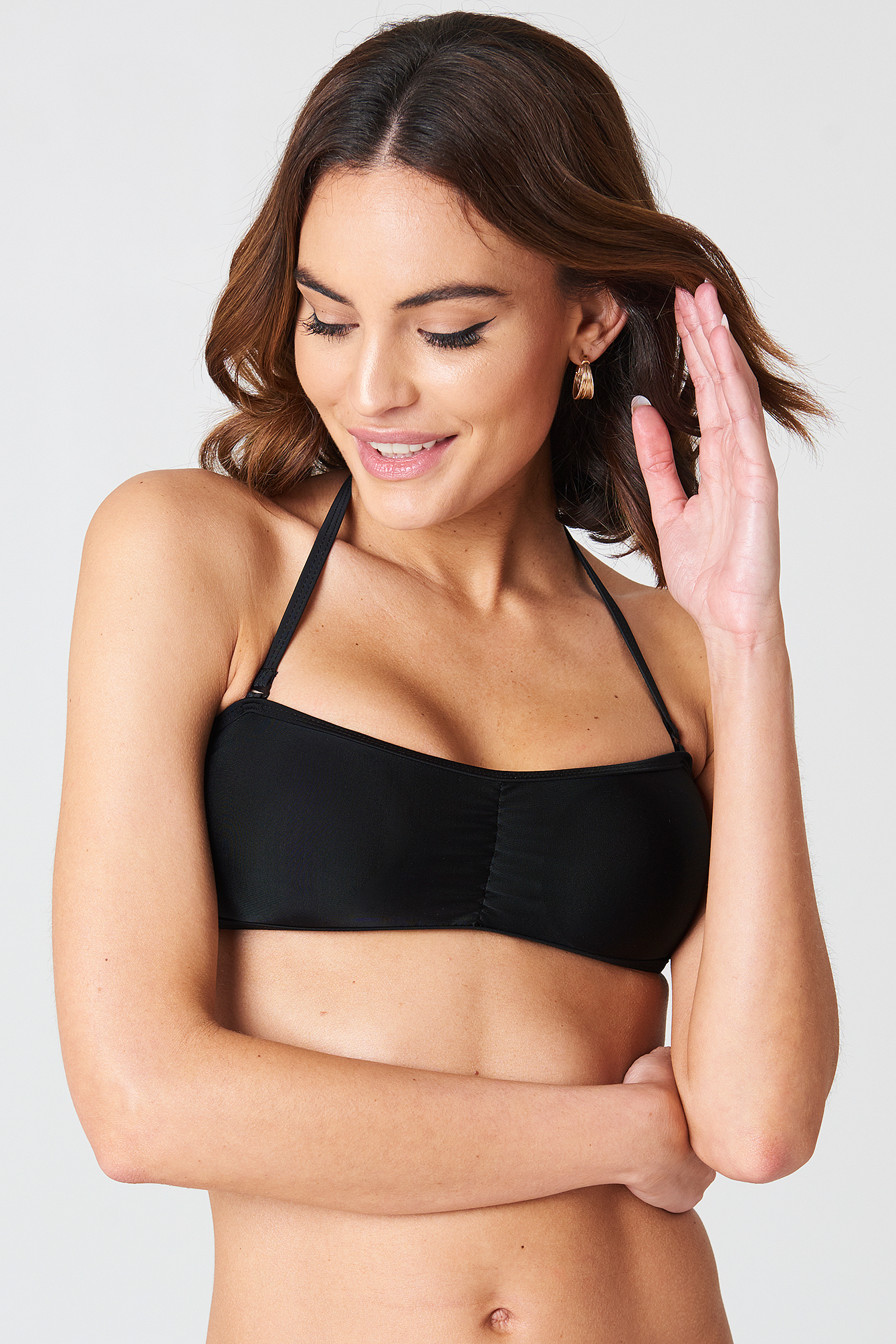 Barbados Bandeau Bikini Set NA-KD.COM