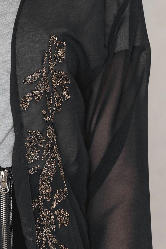 Beaded Chiffon Kimono NA-KD.COM