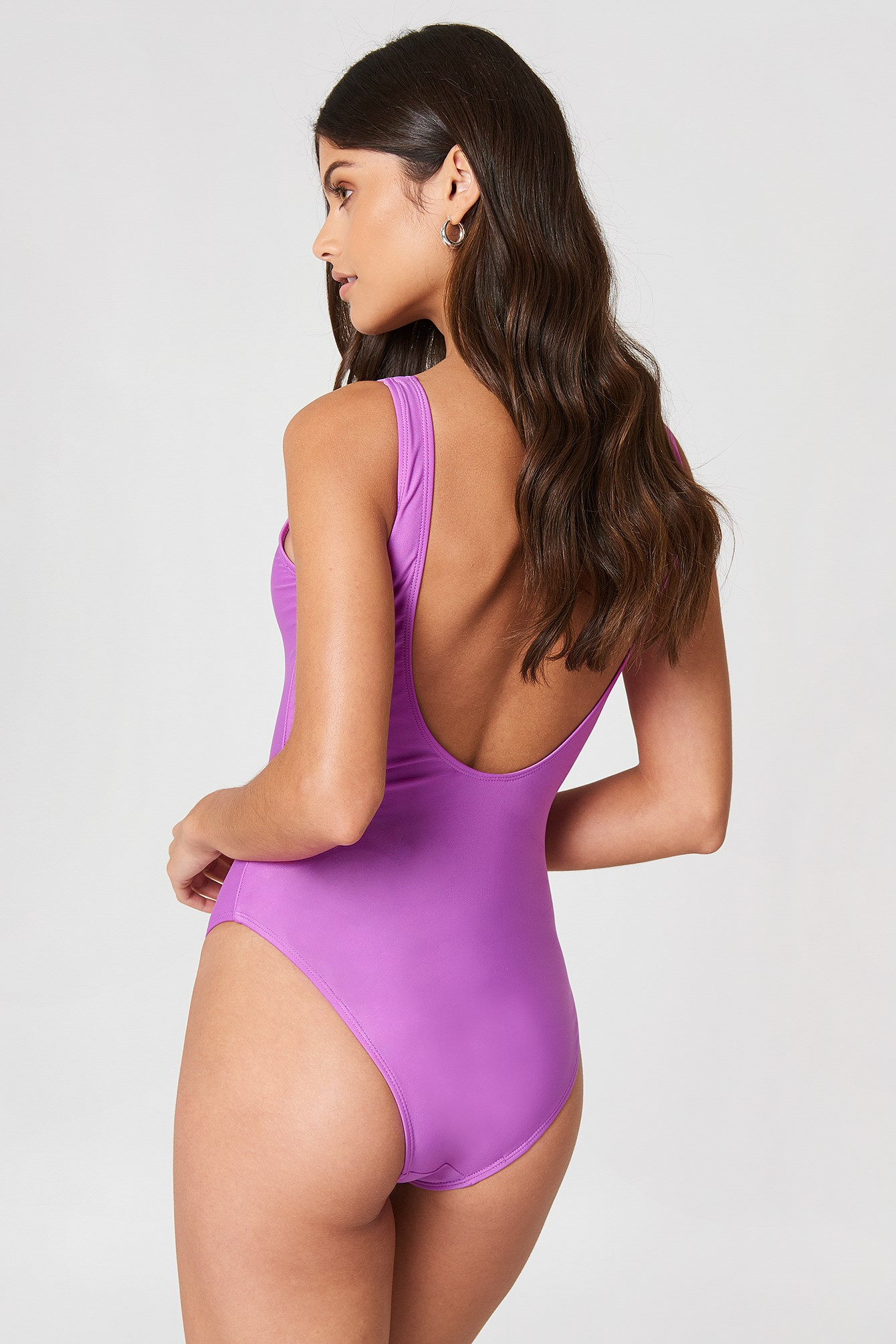 Bermuda Scoop Back Swimsuit NA-KD.COM