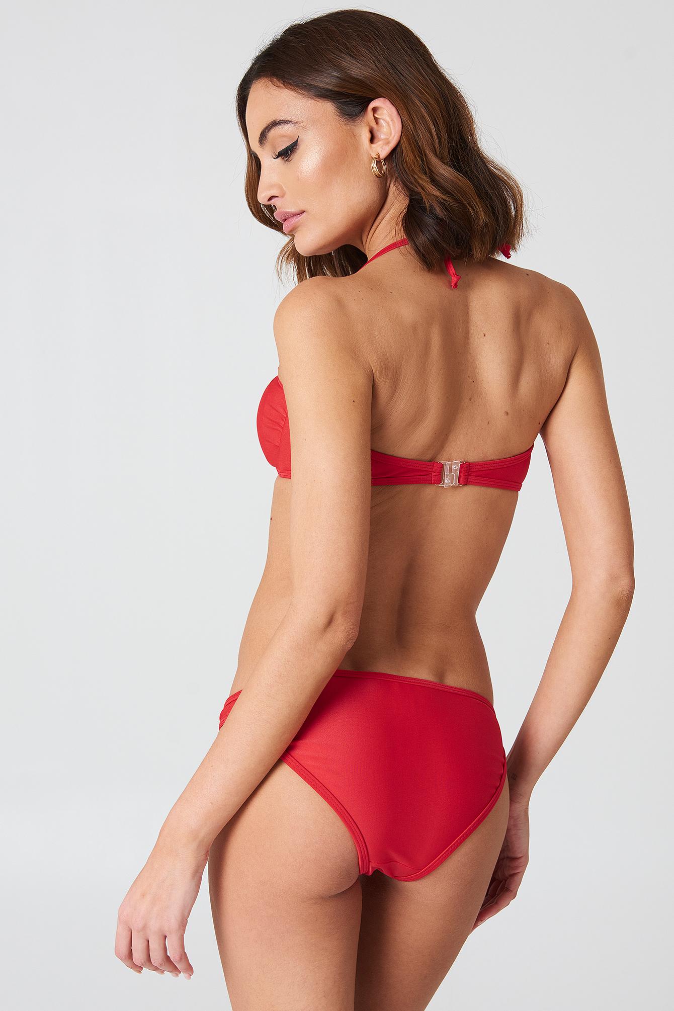 Casablanca Bandeau Bikini Set NA-KD.COM