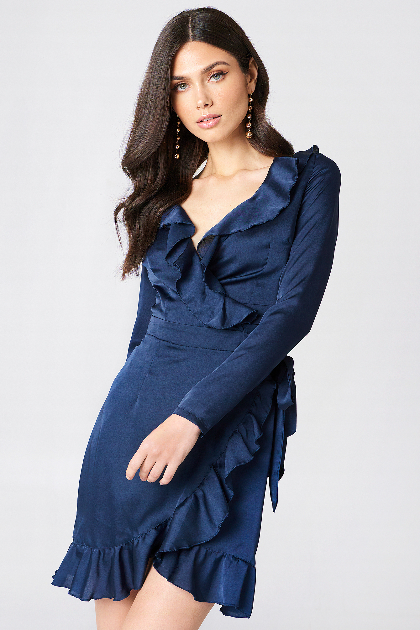 Frill Sleeved Dress