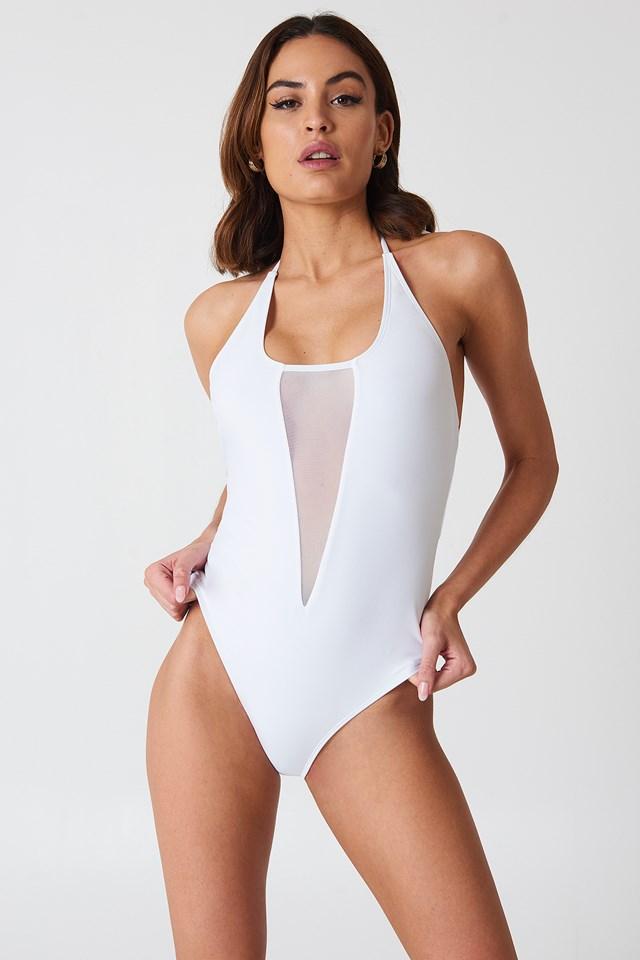 Kos Mesh Swimsuit NA-KD.COM