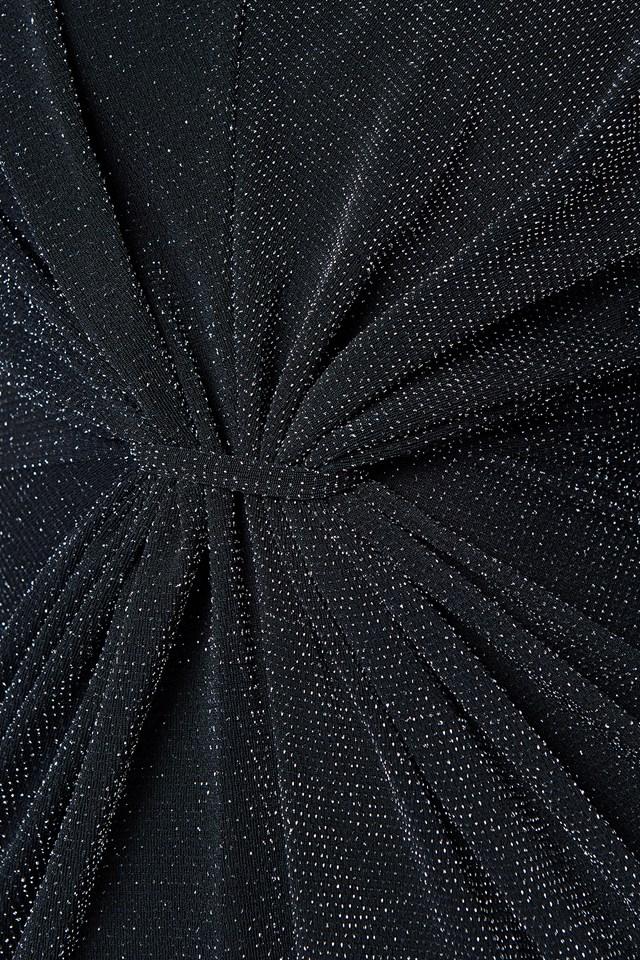 Metallic High Neck Dress NA-KD.COM