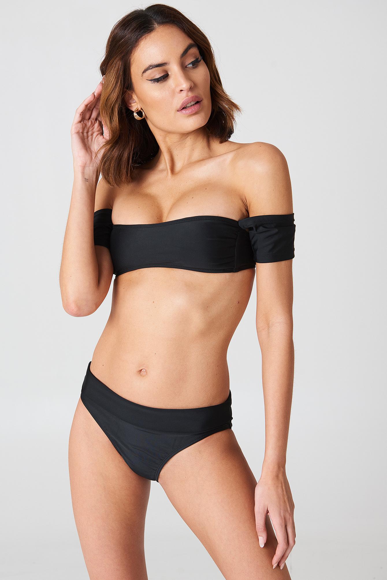 Salamanca Bardot Bandeau Bikini Set NA-KD.COM