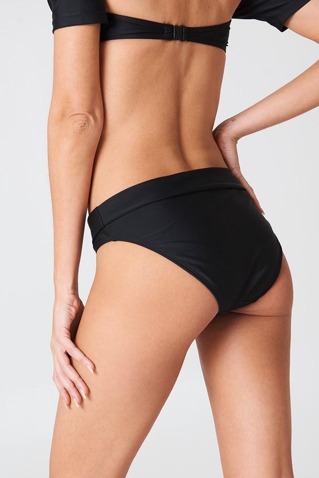 Salamanca Bardot Bandeau Bikini Set Black