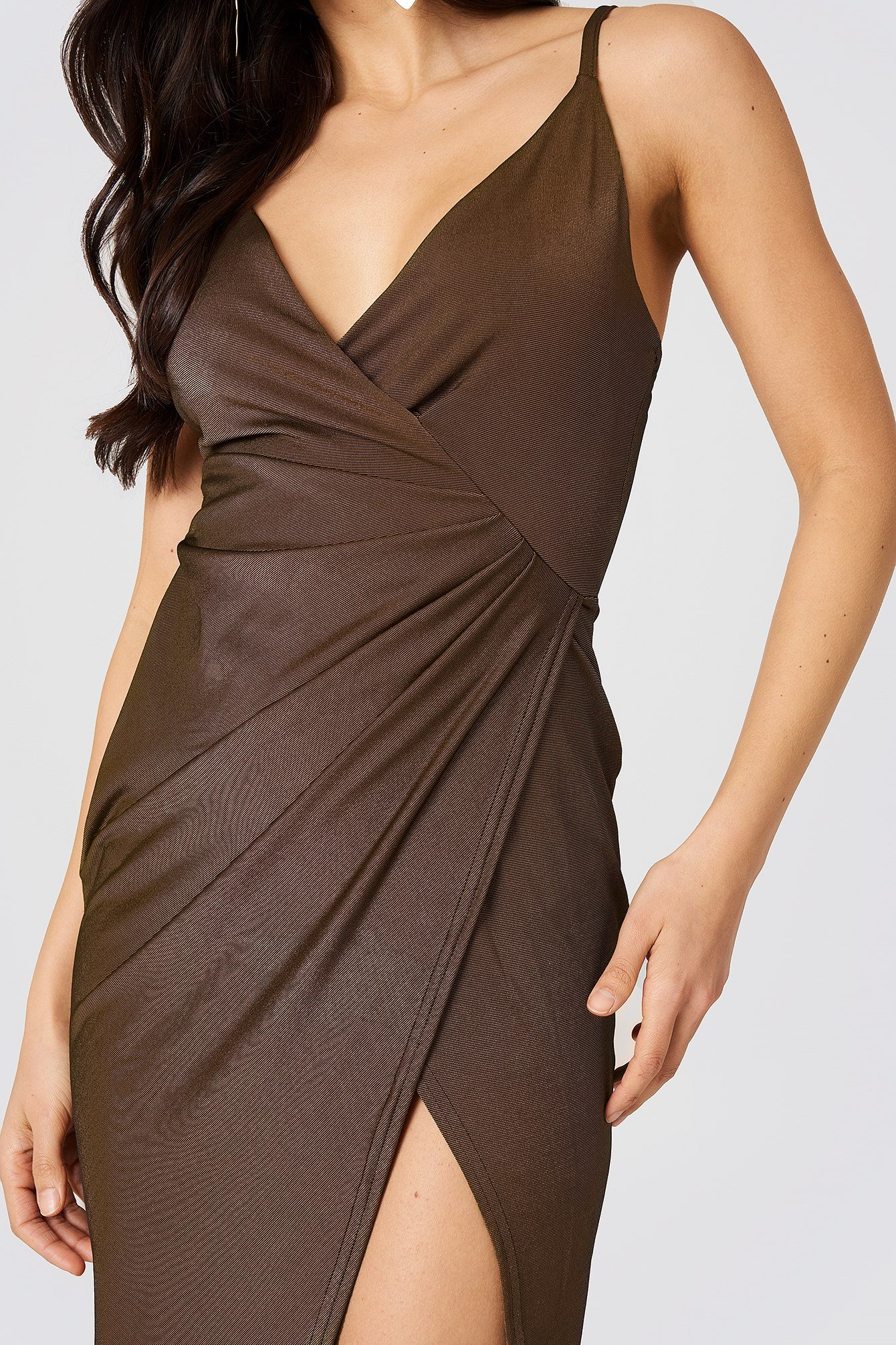 Slinky Draped Dress NA-KD.COM