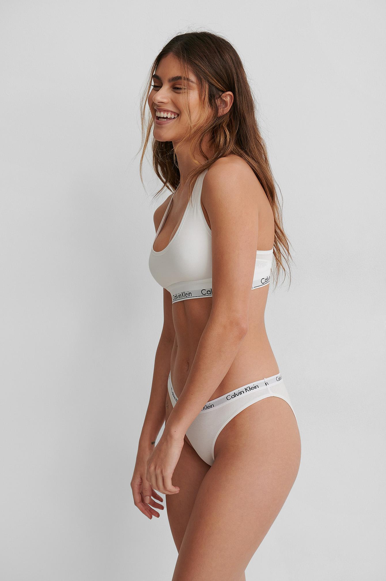 Calvin Klein Bralette Modern Cotton - White