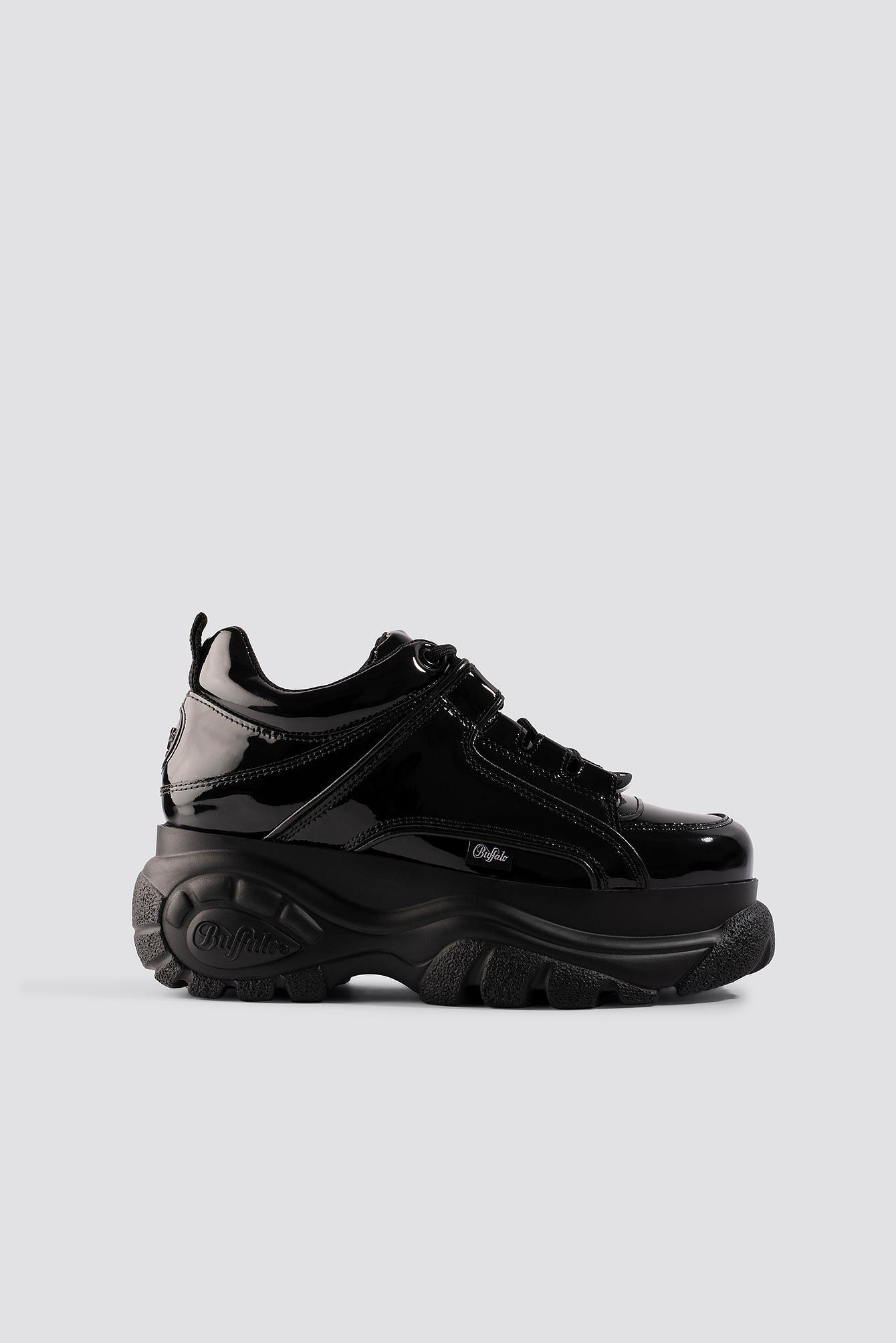 buffalo -  1339-14 Patent Sneaker - Black