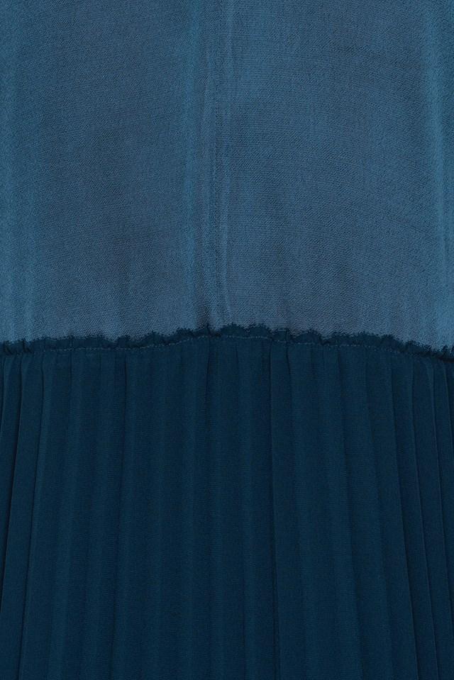Carrol Dress Blue Velvet