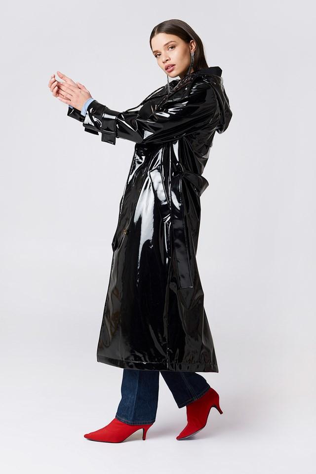 Constanza Coat Black