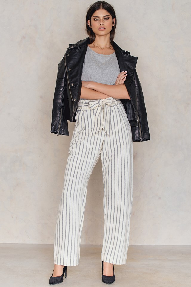 Ginas Pants Soft White