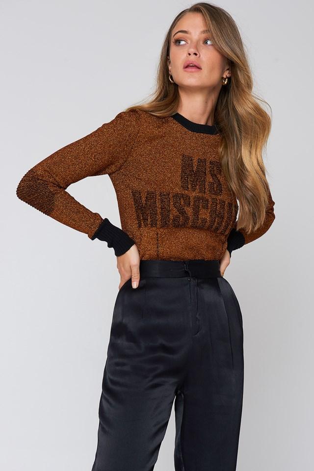 Leggasi Knit Warm Orange