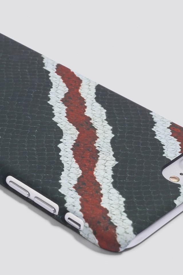Pamsy Printed iPhone 7/8 Plus Case Black
