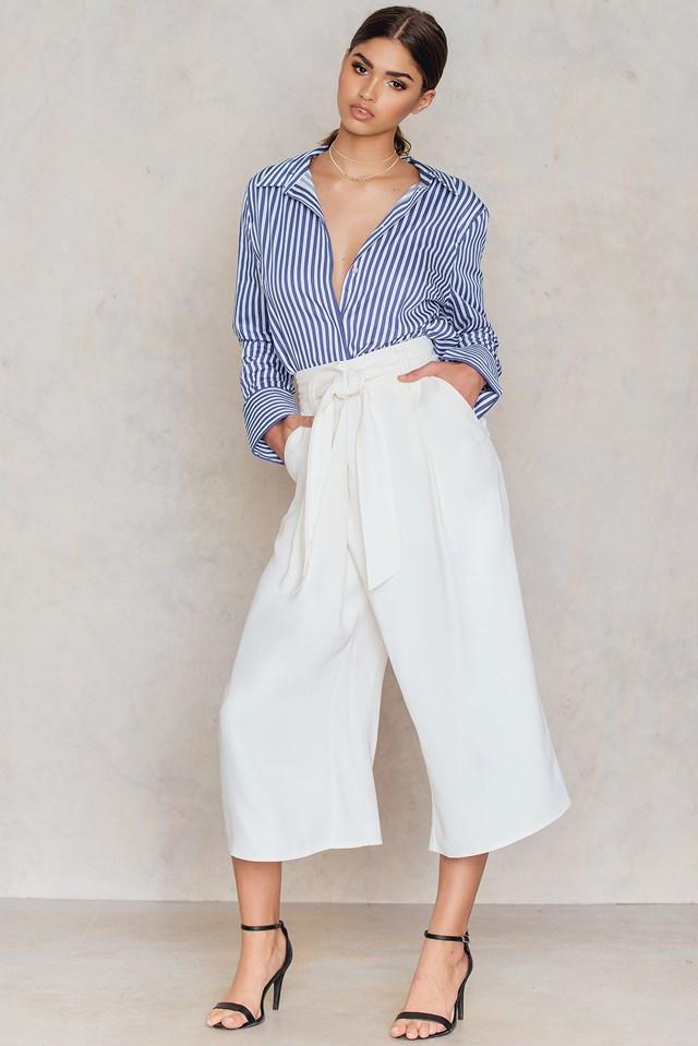 Summer Pants Soft White