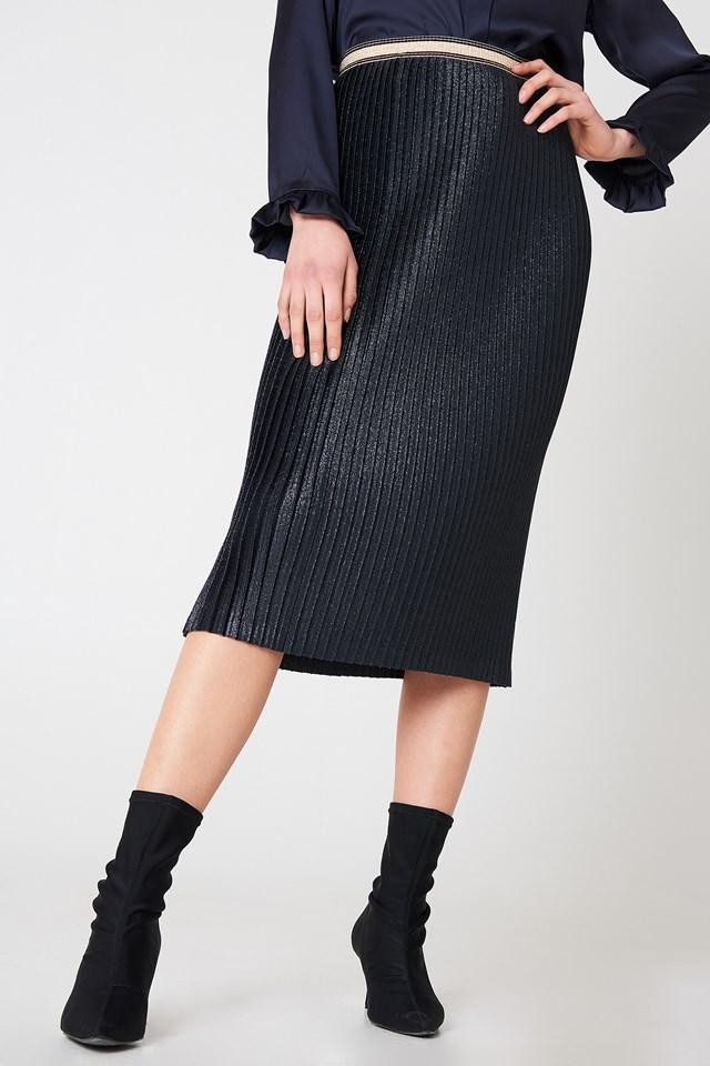 Susianna Skirt Blue Velvet