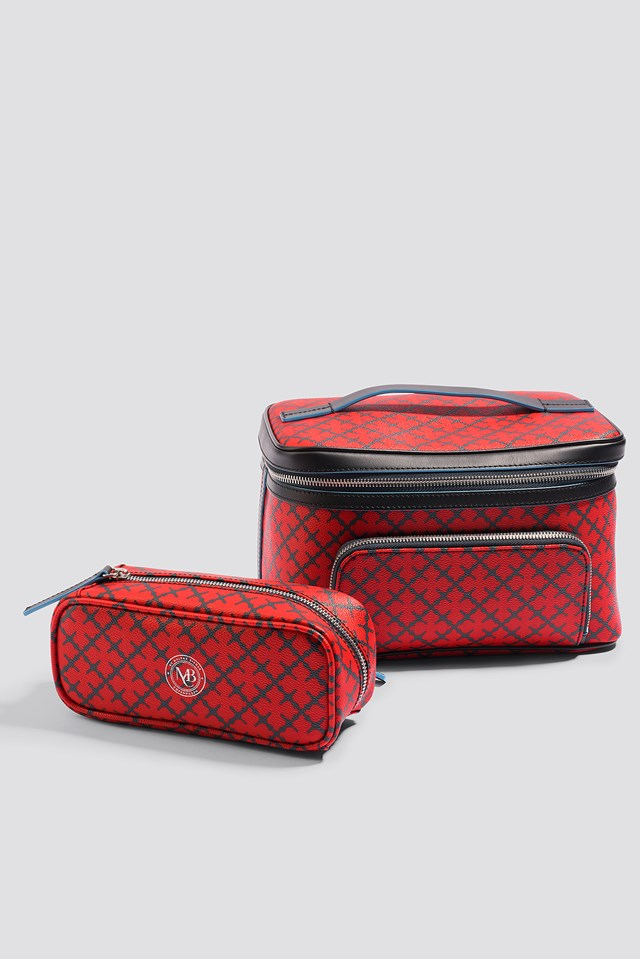Ysatian Cosmetic Case Bright Red