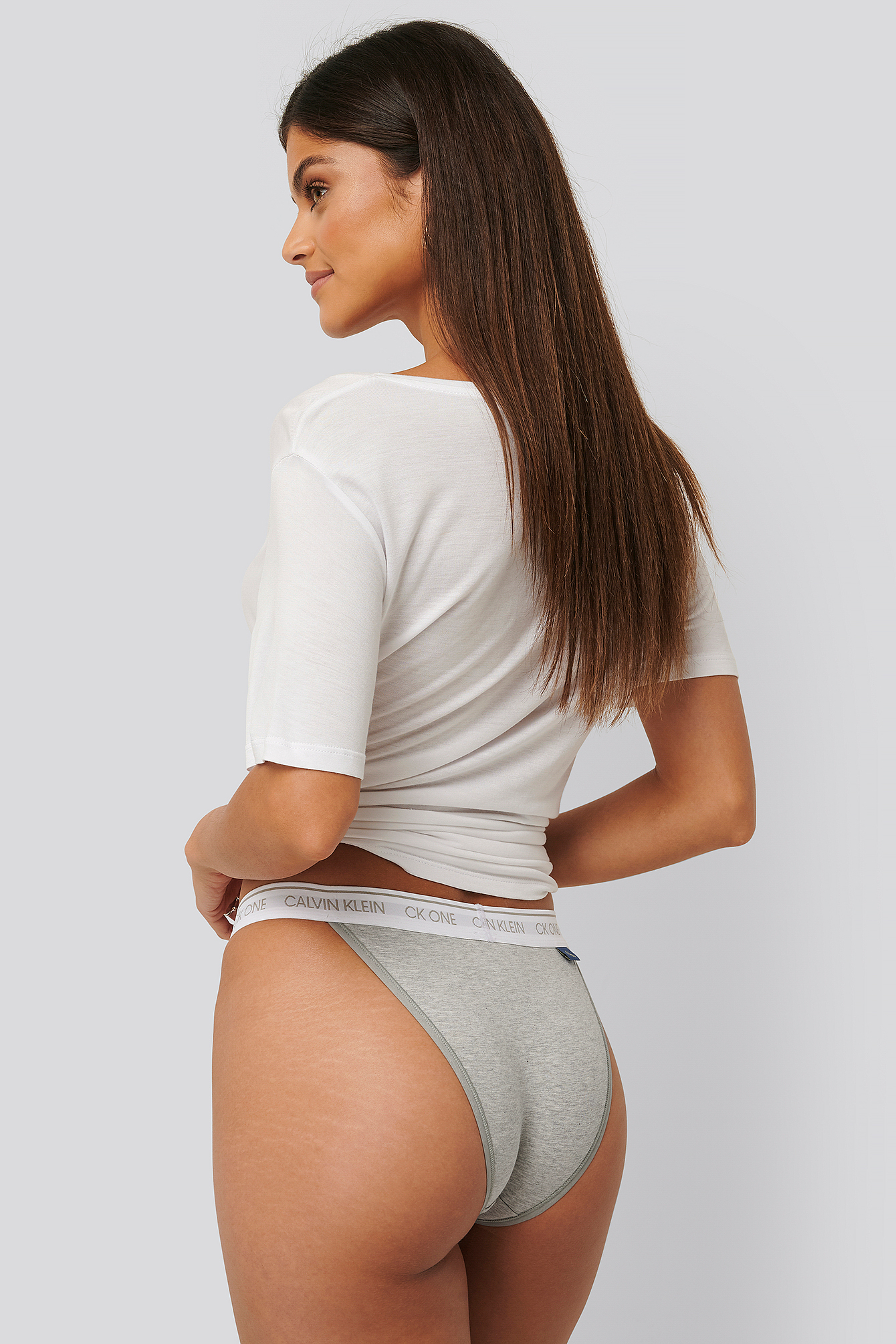 Grey Heather Brazilian Panties