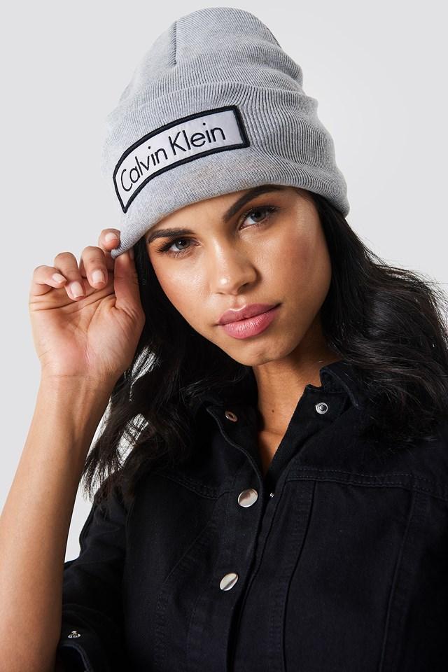 Calvin Klein Beanie Light Grey Heather