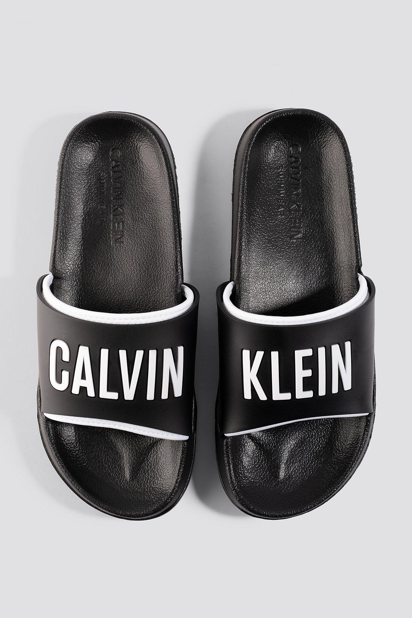 calvin klein -  Beach Slides - Black
