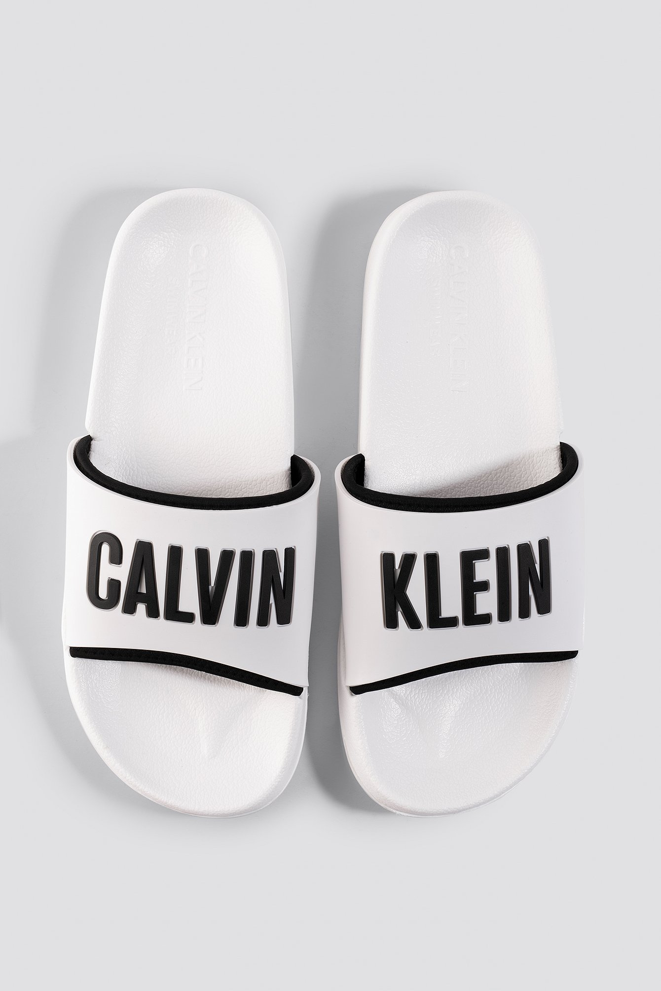 calvin klein -  Beach Slides - White