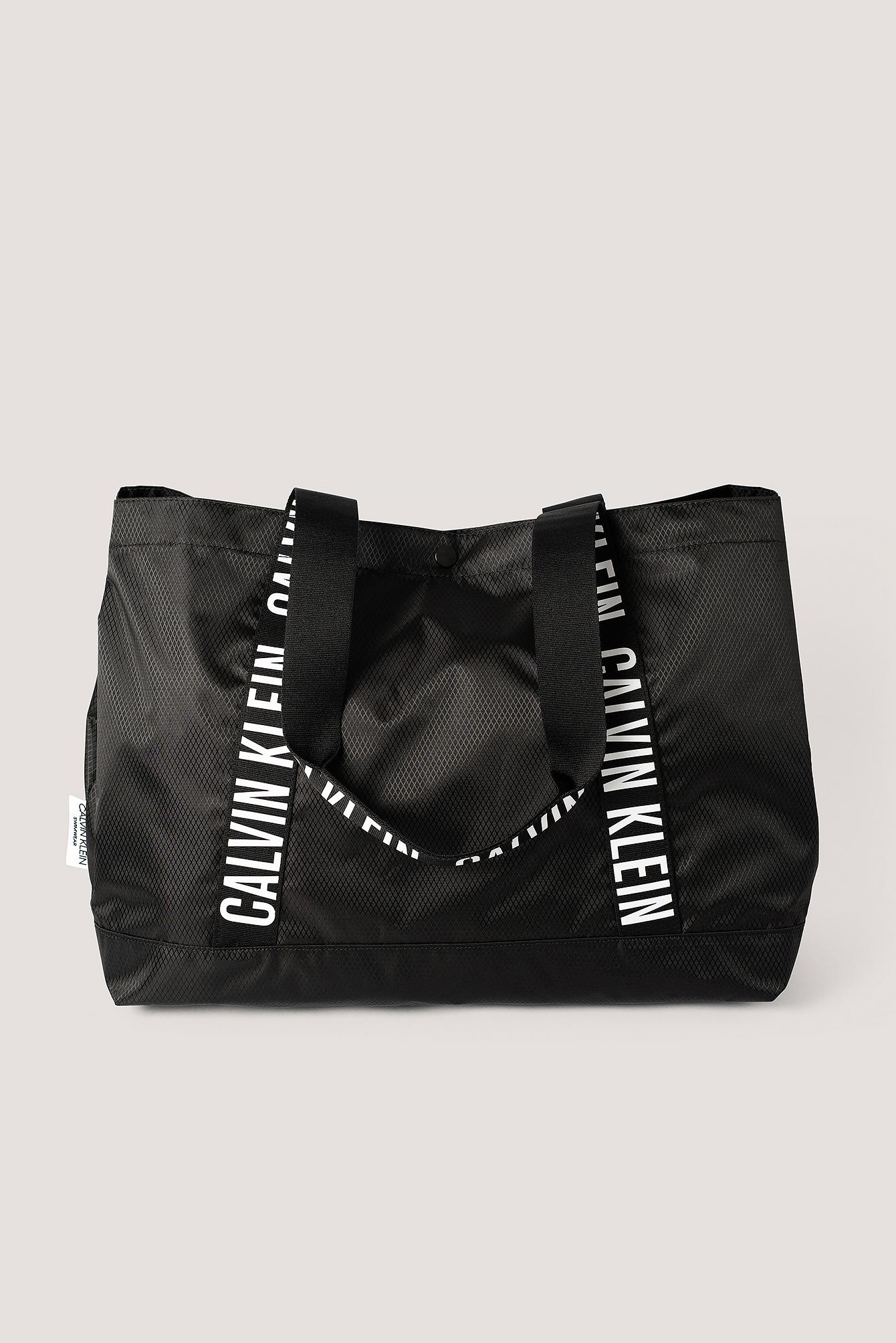 calvin klein -  Strand-Tragetasche - Black