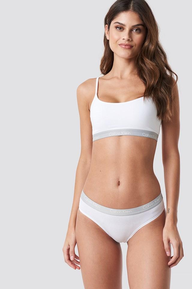 Bikini One Cotton White